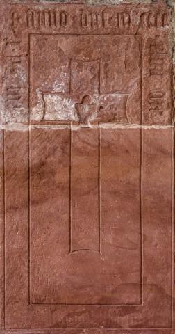 Heidelberg - Heiliggeistkirche - Südschiff - 5. Epitaph, von Westen aus gezählt, an Wand des südlichen Seitenschiffs (aufgenommen im Februar 2014, um die Mittagszeit)
