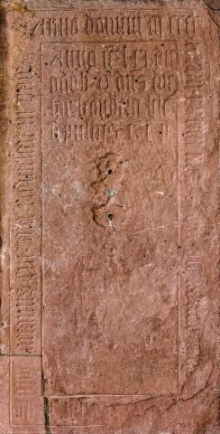 Heidelberg - Heiliggeistkirche - Südschiff - 6. Epitaph, von Westen aus gezählt, an Wand des südlichen Seitenschiffs (aufgenommen im Februar 2014, um die Mittagszeit)