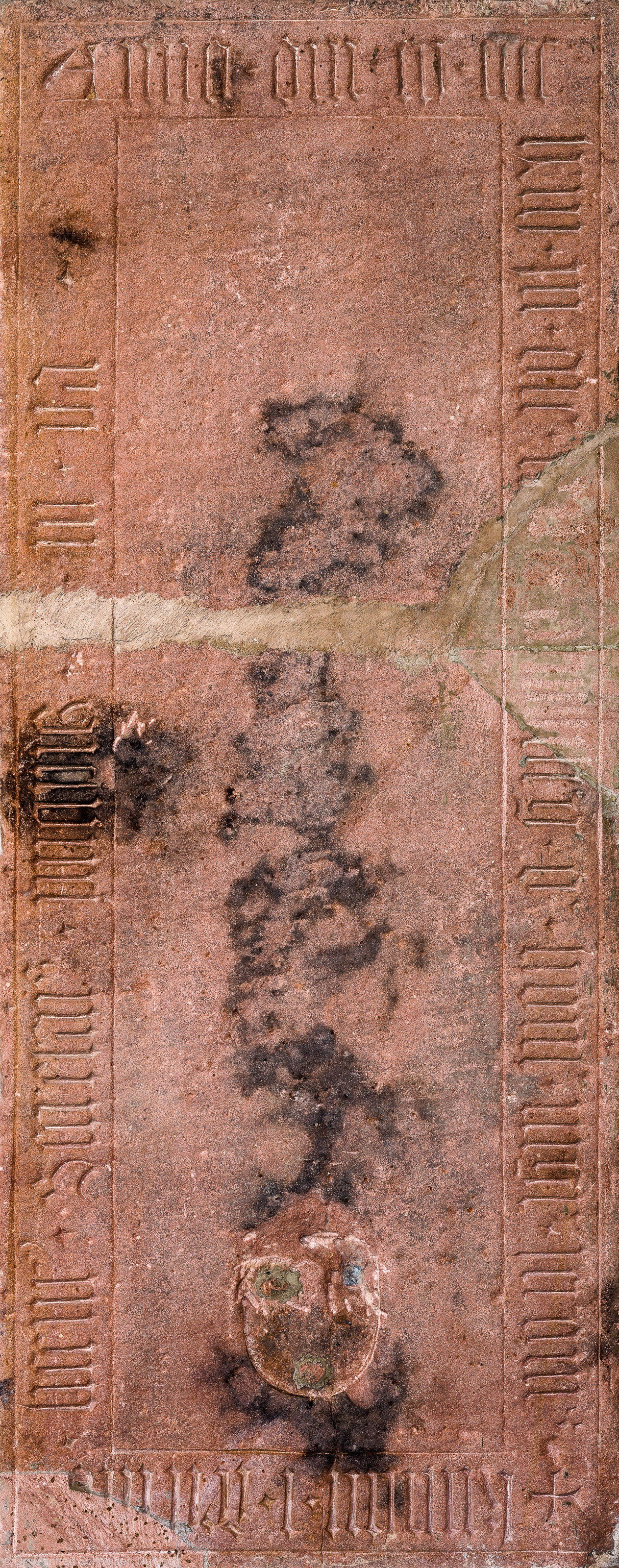 Heidelberg - Heiliggeistkirche - Südschiff - 9. Epitaph, von Westen aus gezählt, an Wand des südlichen Seitenschiffs (aufgenommen im Februar 2014, um die Mittagszeit)