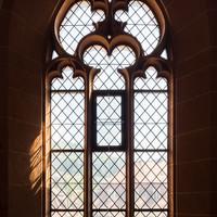 Heidelberg - Heiliggeistkirche - Südempore - 4. Joch, von Westen aus gezählt - Fenster und Maßwerk (aufgenommen im Juni 2015, am Nachmittag)