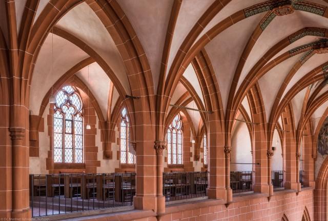 Heidelberg - Heiliggeistkirche - Nordempore - Blick vom Nordwesten der Südempore auf die Nordempore (aufgenommen im Juli 2015, am frühen Nachmittag)